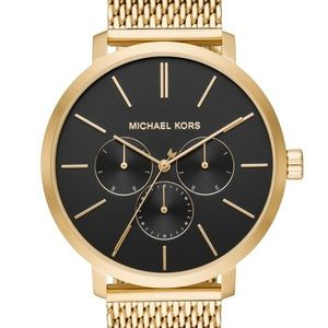 Unisex MK gold watch new in box